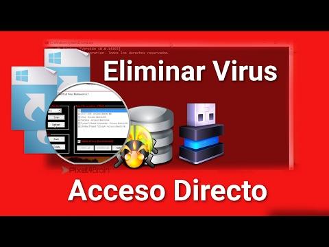 2 Formas: Eliminar Virus acceso directo en memoria USB y PC 2017