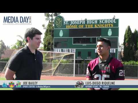 2018 Football Preview: Nipomo High Schools Luis Diego Riquelme looks for stong Senior year