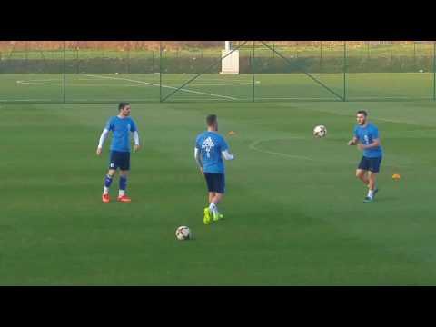Trening reprezentacije BiH pred Gibraltar