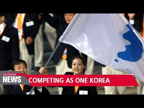 History of two Koreas showing unified front at international sporting events