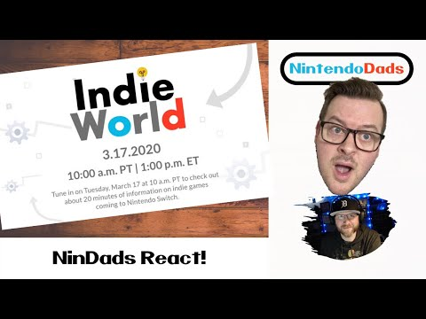 Nintendo Indie World March 2020 - LIVE REACTION