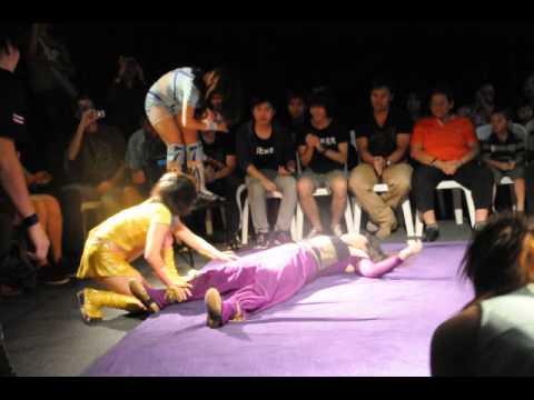 Sakura Emi & Peppermint Vs Blue Lotus & Kotori - Gatoh Move Pro Wrestling