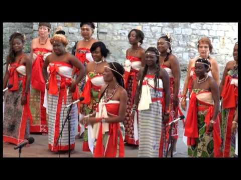 trad. arr. Yveline Damas: Vio - Le chant sur la Lowé-Gabon; Yveline Damas