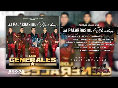 Grupo Los Generales - (2018) Las Palabras del Barbón (Álbum)