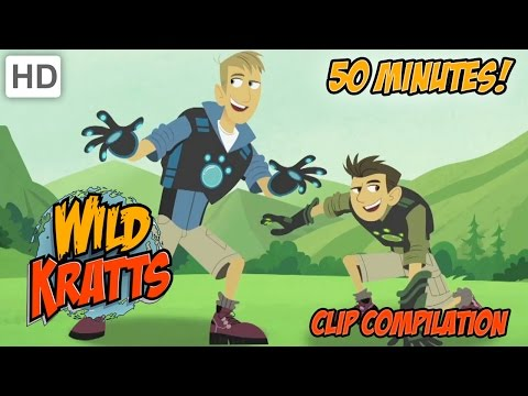 Wild Kratts - Clip Compilation (50 minutes)