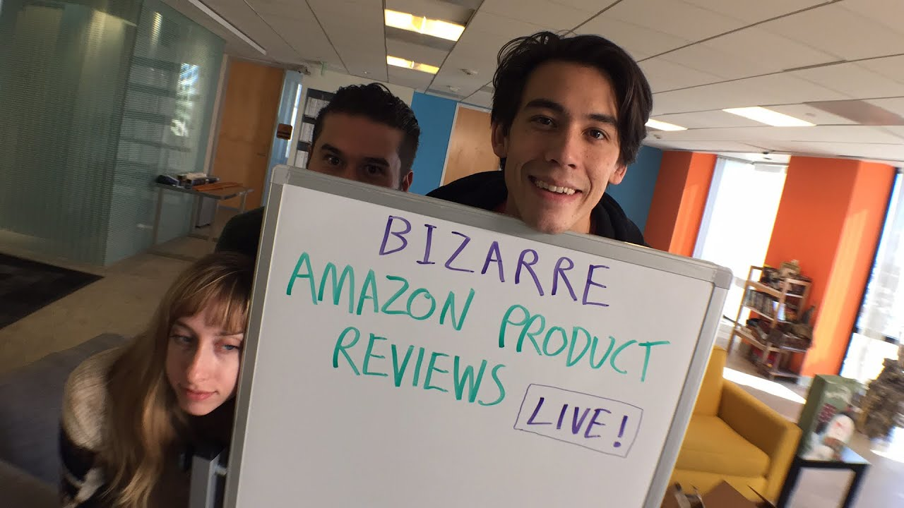 Download Bizarre Amazon Product Reviews LIVE!