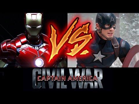 Captain America Civil War - Captain America vs Iron Man, who will WIN?! - Beyond The Trailer