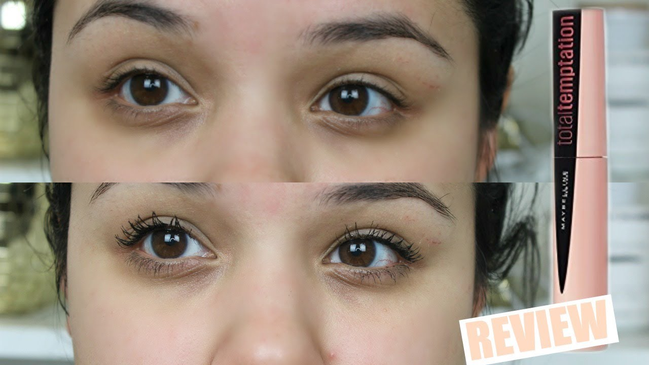 10a1699e8cc NEW Maybelline Total Temptation Mascara | Review + Demo - YouTube