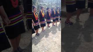 Traditional folk song at pessao village during 35th sessions TASU sports cum Federal meeting 2019