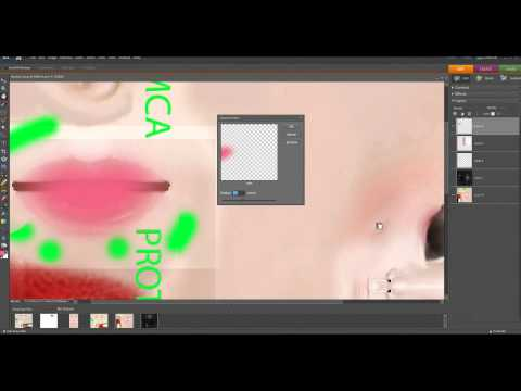 IMVU Skin Tutorial: Natural Lips  ♥ (Developing)