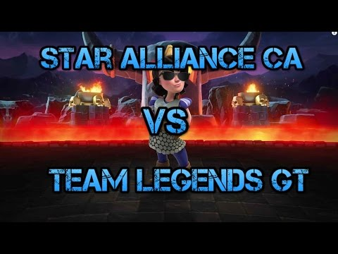 Copa Chapina de Clash Royale | Star Alliance CA vs Team Legends GT | 1/4 de Final