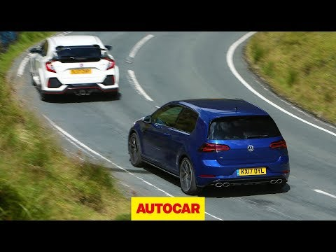 Honda Civic Type R meets VW Golf R | World