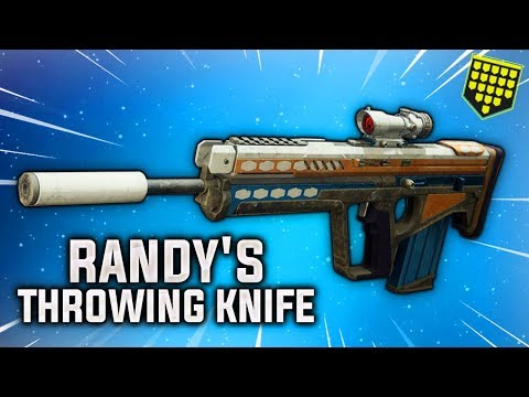 Randy's Throwing Knife    Not a Normal Scout Rifle (Destiny 2 Shadowkeep)