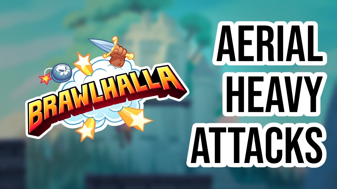 HOW TO DO HEAVY ATTACKS IN THE AIR - Brawlhalla