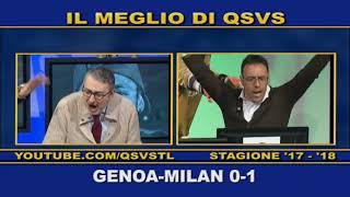 QSVS - I GOL DI GENOA - MILAN 0-1  - TELELOMBARDIA  TOP CALCIO 24