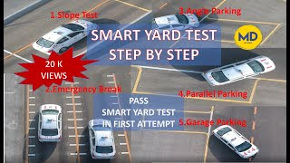 SMART YARD / PARKING TEST BY RTA DUBAI