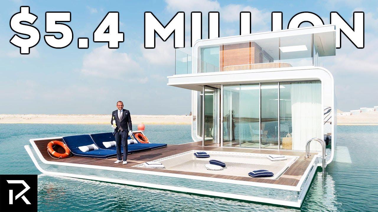 Dubai's $5 Million Dollar Floating Villas