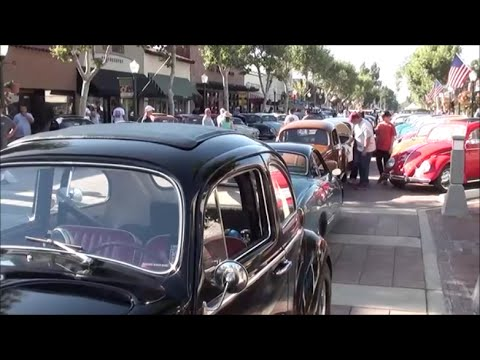 VW Pre Clic Car Show Hangout at Garden Grove, California - YouTube
