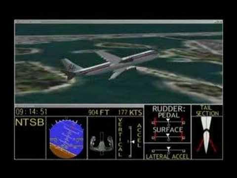 Crash of AA Flight 587 on November 12, 2001