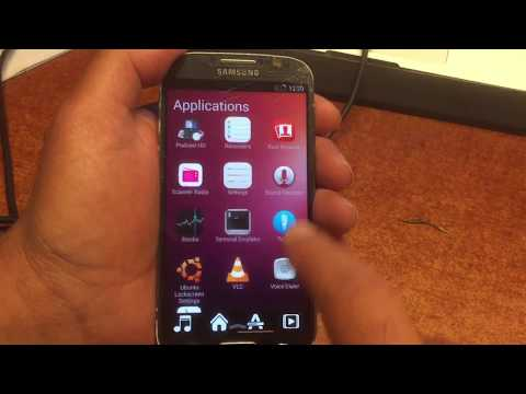 UBUNTU Linux MOD Android ROM For Samsung  S4 GT I9505 - FULL INSTALL TUTORIAL + Download -