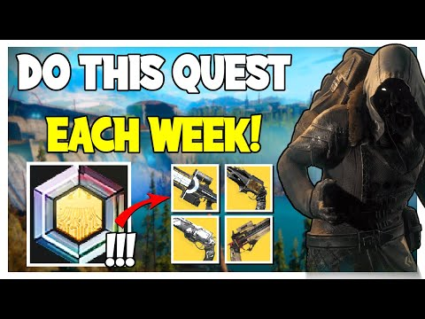 NEW Xenology Exotic Cipher Xur Quest! Buy Vaulted Exotics Every Week   Destiny 2 Beyond Light