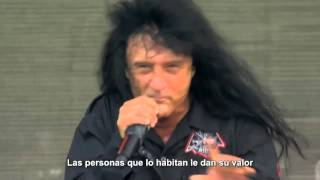 Indians Anthrax Subtitulos Español The Big Four Live Gothenburg 201...