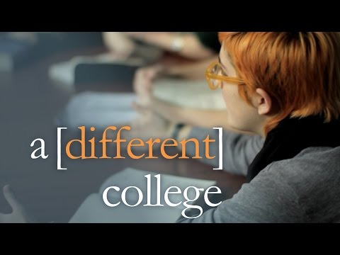 Shimer College, A Different College. Chicago's Liberal Arts School; Rolling Admissions, Scholarships