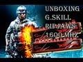 Unboxing G.Skill Ripjaws 8Gb 1600 Mhz DDR3