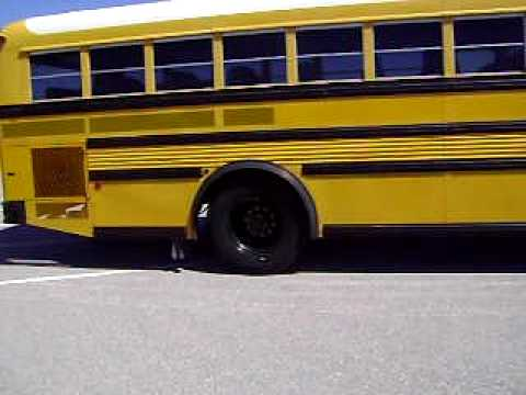 An awsome used school bus - Super seating capacity and a huge air conditioning system!
