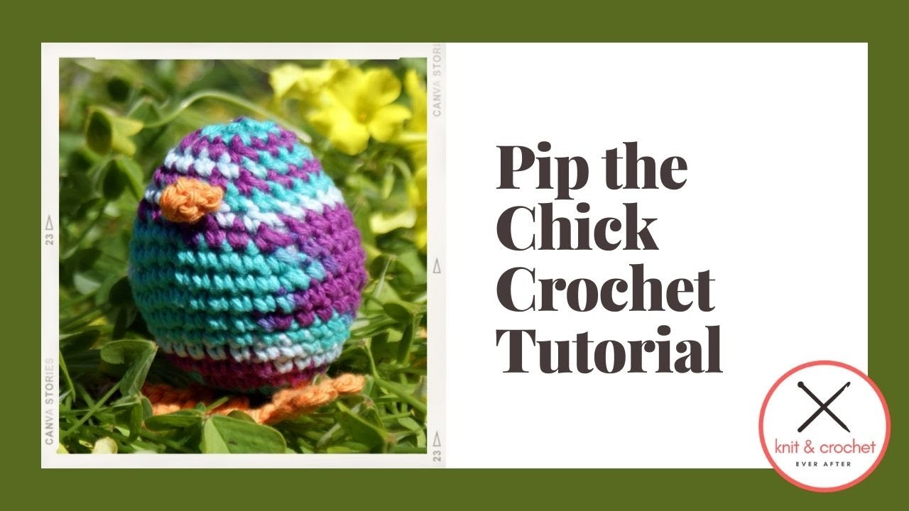 Pip the Chick: Part 1 -Free Pattern Workshop - YouTube