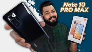 Redmi Note 10 Pro Max Unboxing And First Impressions ⚡ 120Hz sAMOLED, 108MP Camera, SD 732G & More