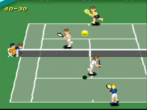 SNESOT Super Tennis Online Tour - Nev vs Gabriel West - FINAL AO Doubles 2013 Part2