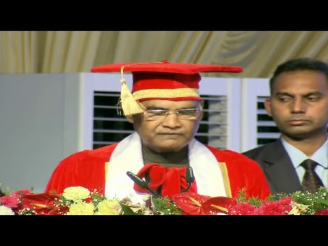 President Kovind attends the convocation ceremony of the Symbiosis International University in Pune