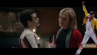 Bohemian Rhapsody Movie Another one bites the dust scene
