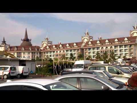 Дорога з моря до готелю SIDE CROWN PALACE 5* (Туреччина, Сіде)