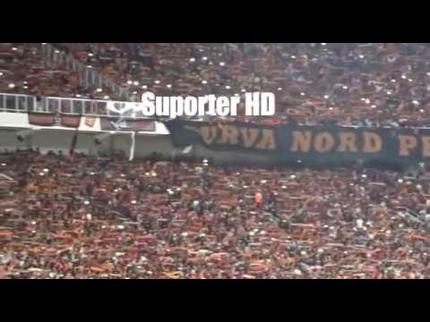 WoW!!! Aremania Terdiam Menghormati The Jak Mania Saat Persija Vs Arema FC Di Stadion GBK