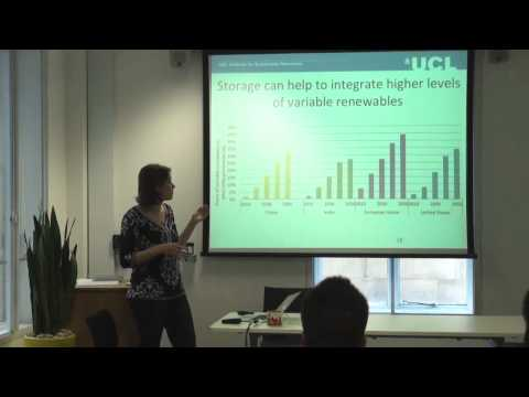 Breakfast Seminar: 'Energy Storage - a global discussion' by Melissa Lott