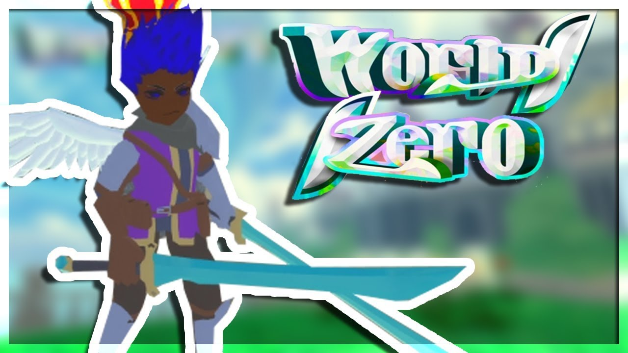 NEW ROBLOX RPG GAME WORLD ZERO GAME PLAY IS RELEASED! THIS GAME IS AMAZING!