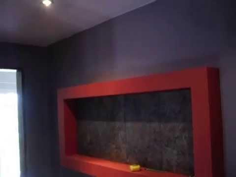 Hall com tecto falso com luz indirecta youtube - Luz indirecta ...