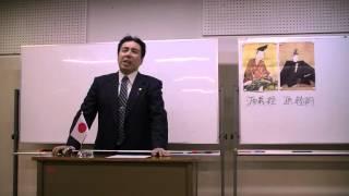 第3回黒田裕樹の歴史講座「源義経 ~悲劇のアイドル」の様子です(1/11...