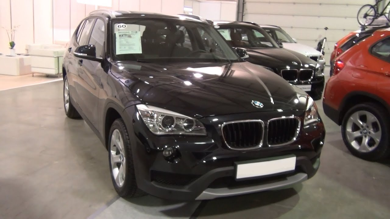 bmw x1 xdrive 18d 2012 black exterior and interior in 3d 4k uhd youtube. Black Bedroom Furniture Sets. Home Design Ideas