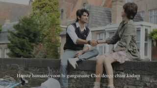 Gambar cover 'Chaar Kadam' FULL  Song Lyrics | PK Movie | Shaan, Shreya Ghoshal