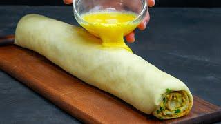 Ароматные улитки с сыром и зеленью заменят хлеб на праздничном столе