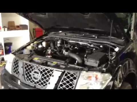 2007 Nissan Navara D40 Aventura 2.5 DCi Engine Run Test