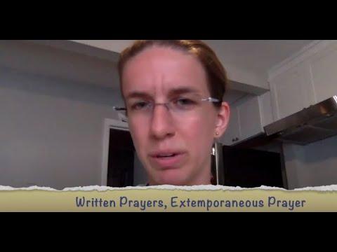 Prayer Course - Week 2