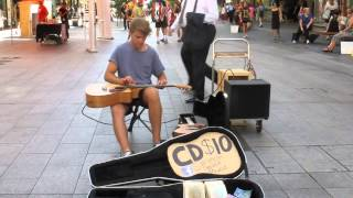 simeon baker - lap tap - percussive guitarist from adelaide