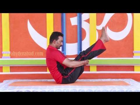 Vajroli Mudrasan Hindi part1- The right way to good health, HelloHyderabad.com Yoga Series