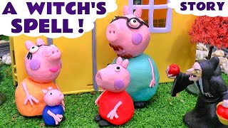 peppa pig play doh witch s english episode   thomas friends shopkins batman monsters inc