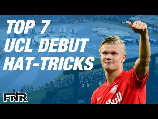 Top 7 FOOTBALL Debut Hat-Tricks | Champions League (UCL)