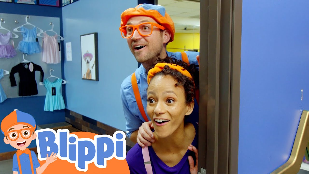 Blippi Learns to Dance with his Friend Meekah!   Fun and Educational Videos For Toddlers